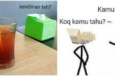 10 Meme lucu 'cerita di meja makan' ini bikin ketawa