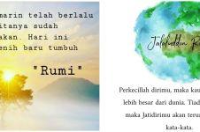 40 Kata-kata quote Jalaluddin Rumi, indah dan penuh makna