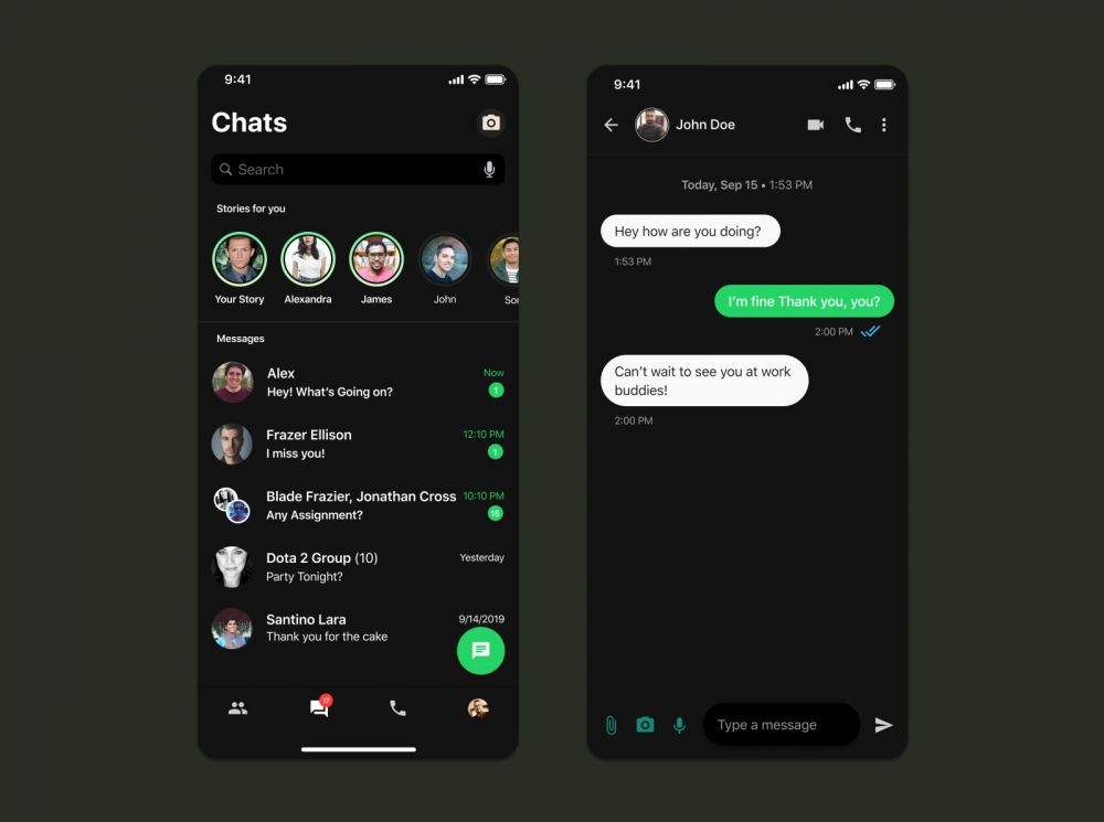 WhatsApp dark mode kini ada pilihan warna Istimewa