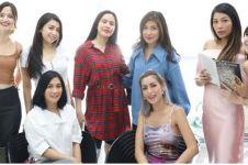 7 Momen bridesmaid Jessica Iskandar fitting gaun, seru banget