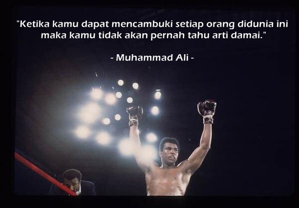 Quote Muhammad Ali © 2020 brilio.net