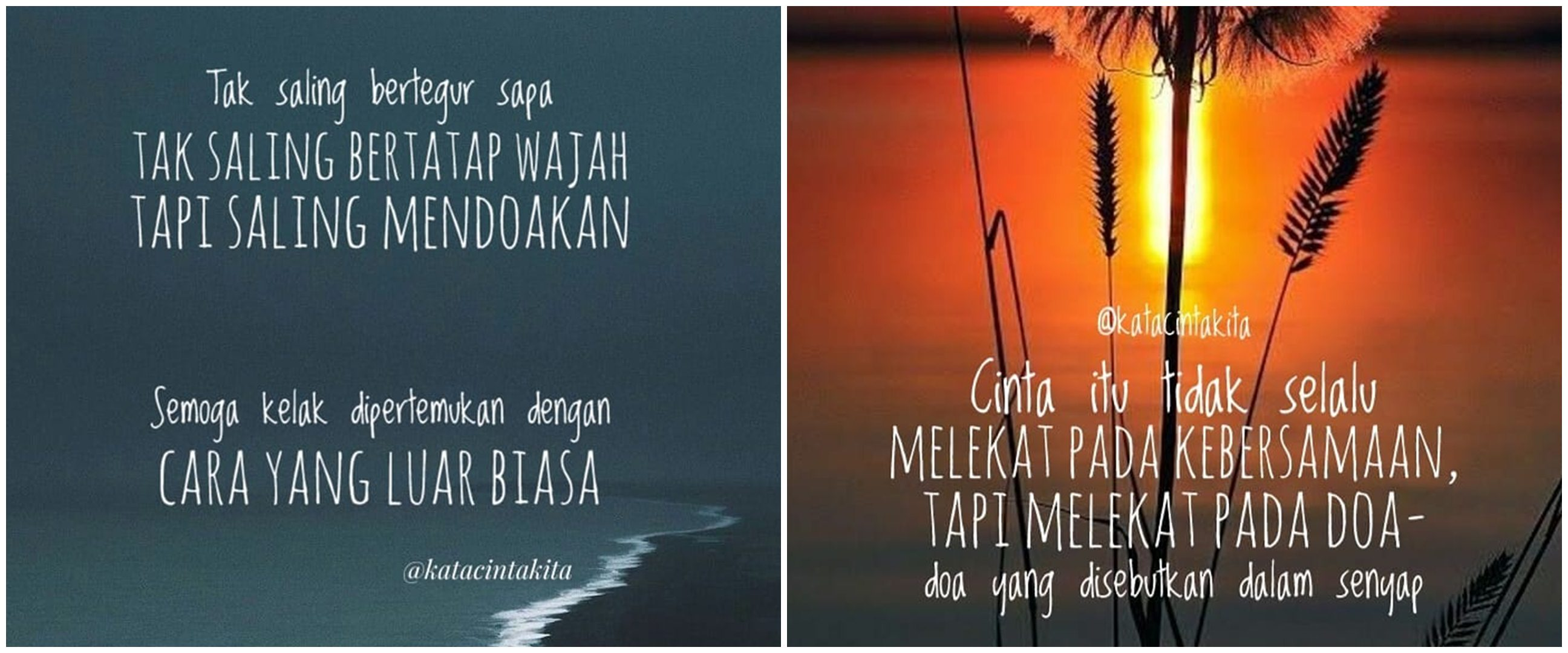 121 Kata-kata quote cinta romantis, sederhana tapi manis