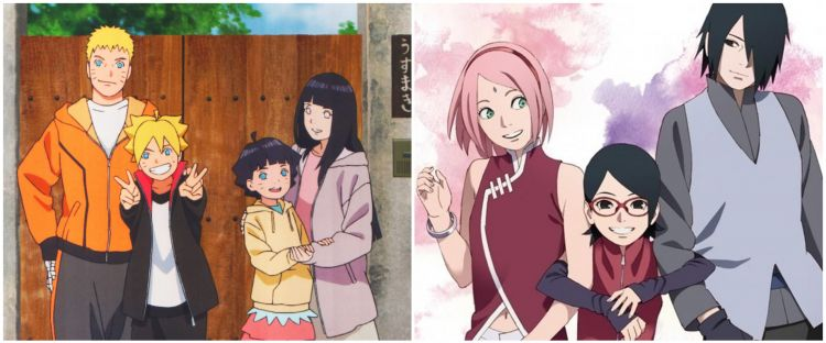 5 Pasangan ninja terbaik di era Naruto hingga Boruto