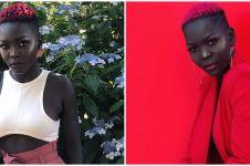10 Potret terbaru Nyakim Gatwech model dengan kulit tergelap