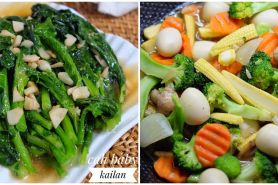 12 Resep cah sayur enak, sehat, sederhana, & gampang dibuat