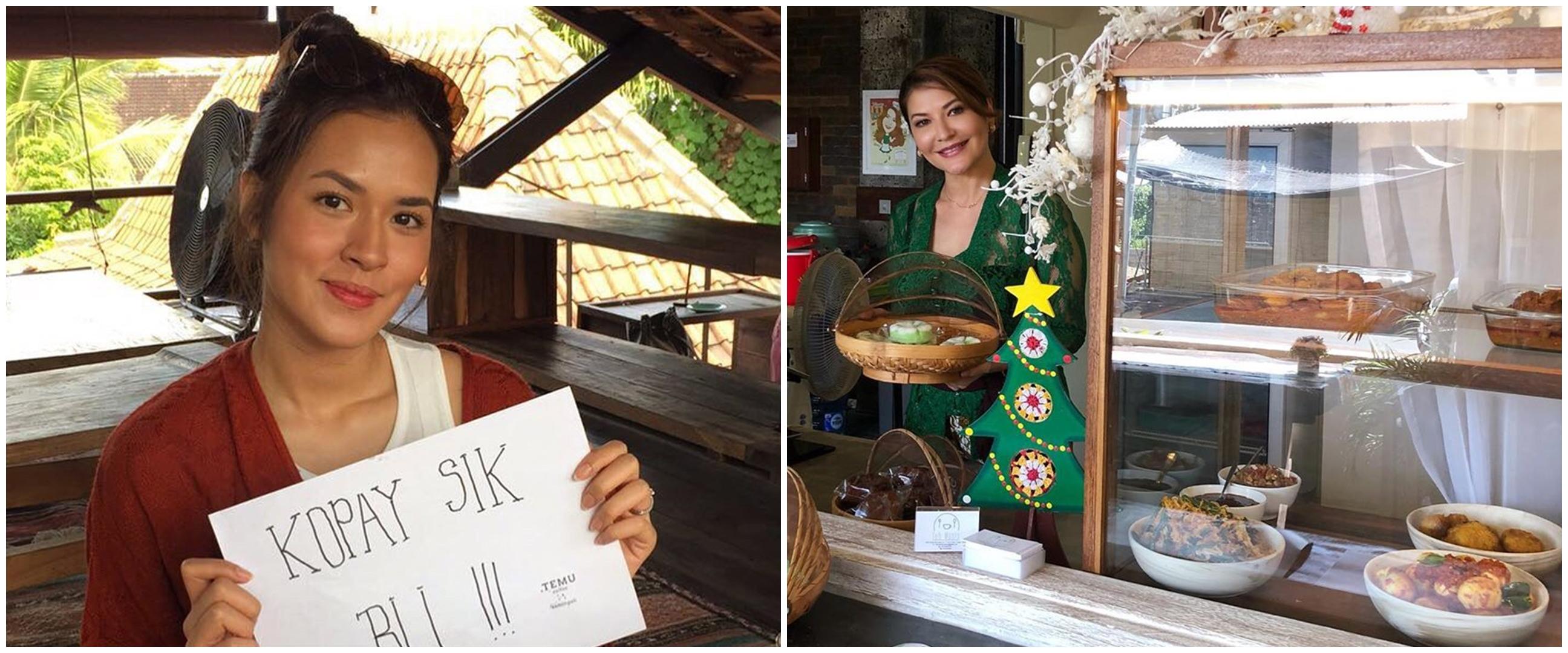 Mengintip usaha kuliner 6 seleb di Bali, tempatnya cozy abis