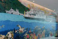 9 Karya seni kontemporer ini percantik wajah Pelabuhan Merak-Bakauheni