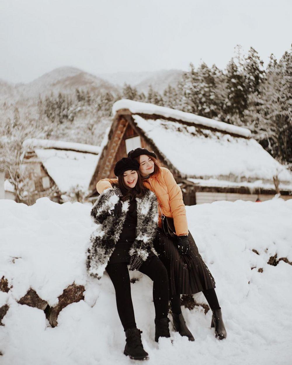 Persahabatan Jessica Mila dan Enzy Storia © 2020 brilio.net