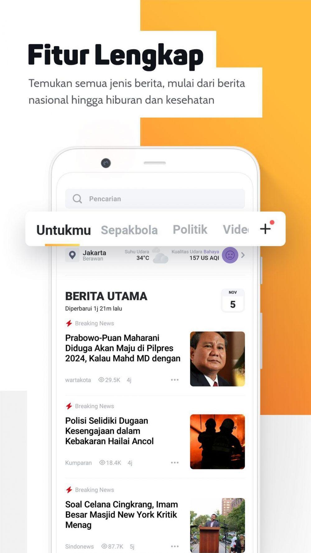 Aplikasi Android terbaik karya anak bangsa © 2020 brilio.net