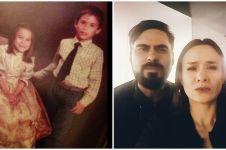 9 Potret kenangan Ashraf Sinclair & kedua adiknya yang jarang tersorot
