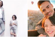 8 Potret kenangan Ashraf Sinclair & Noah pakai baju kembar