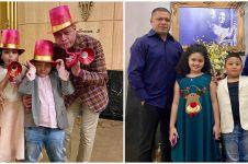 8 Momen pesta ulang tahun Raul Lemos, kuenya penuh uang dolar