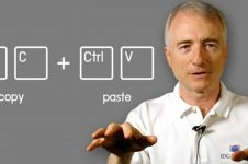 Larry Tesler, penemu cut, copy, dan paste meninggal dunia