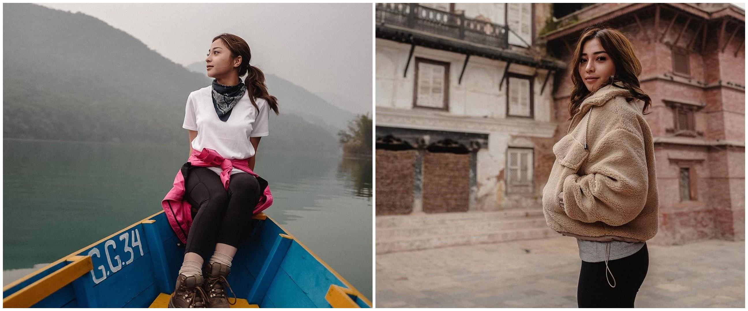 7 Gaya liburan backpacker Nikita Willy ke Nepal, tetap stylish