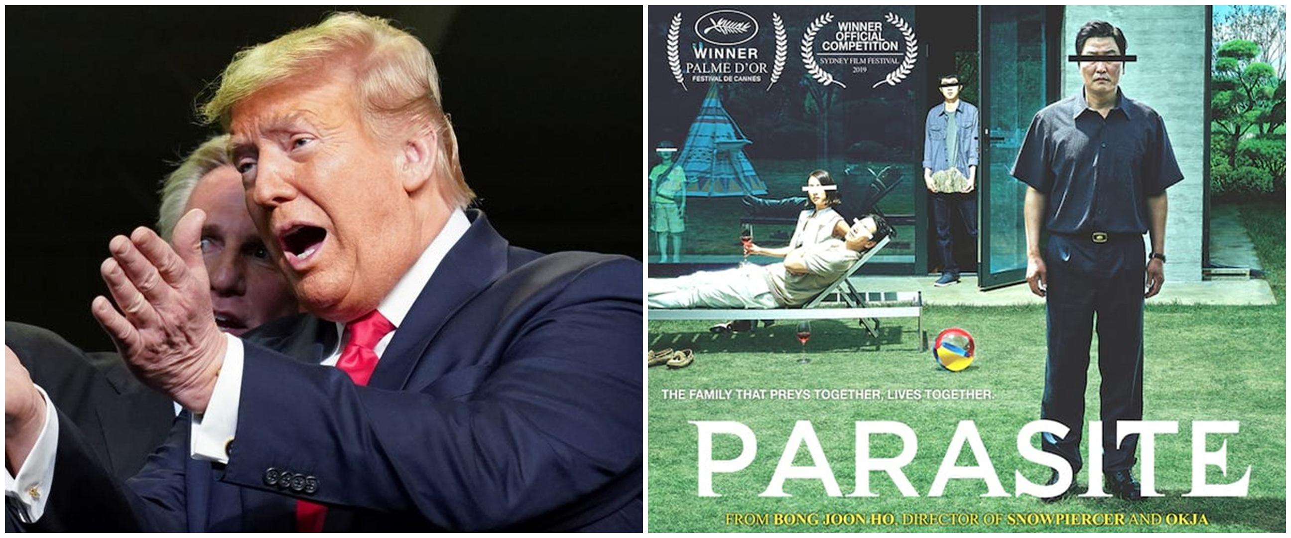 Menang penghargaan Oscar 2020, Parasite 'diejek' Donald Trump
