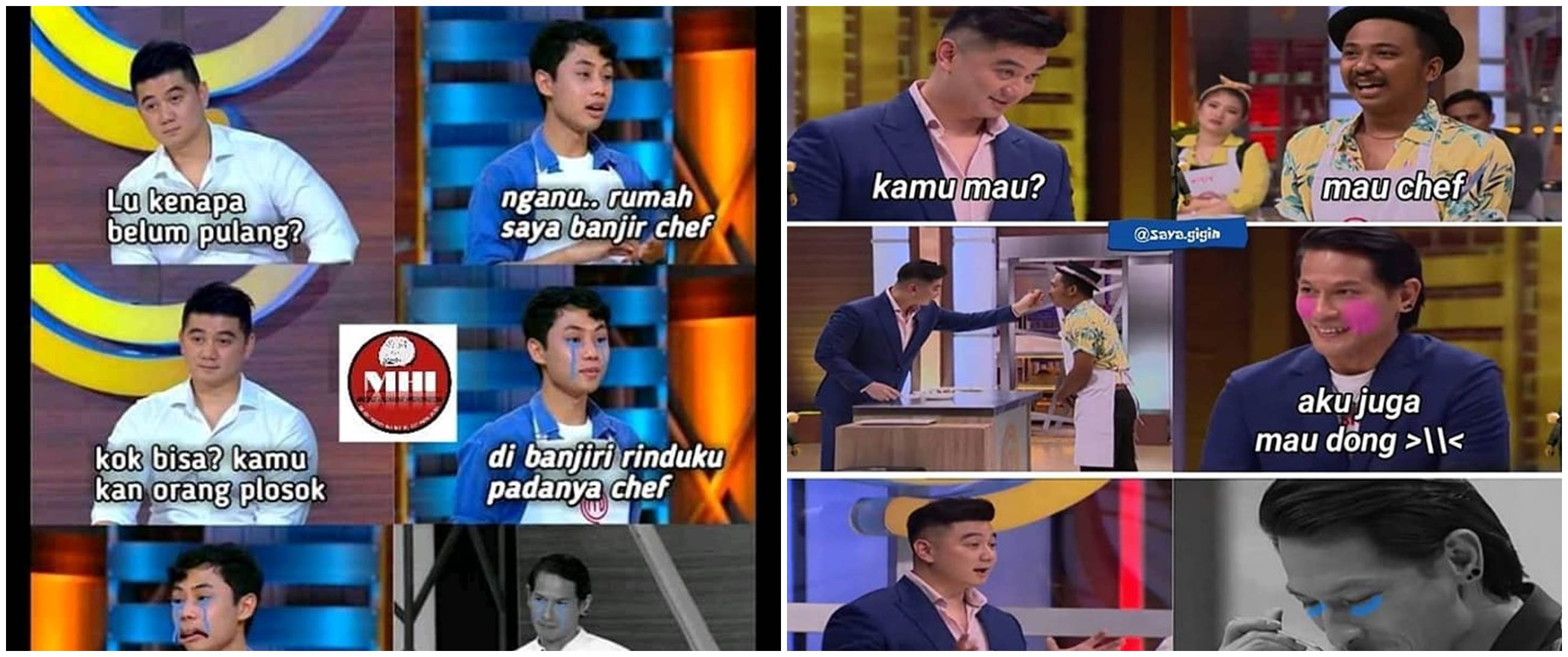 8 Meme lucu Chef Juna nangis di MasterChef, bikin tepuk jidat