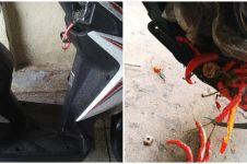 Rusak dan dibawa ke bengkel, yang ditemukan di motor ini bikin kaget