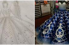 Pria ini bikin gaun prom night kakaknya, proses & hasilnya bikin kagum