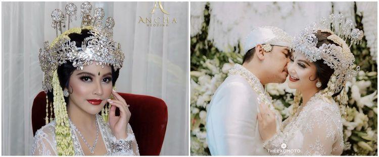 10 Potret pernikahan Tiwi eks T2 dan Arsyad, digelar tertutup