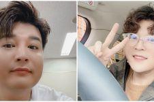Shindong Super Junior pamer pipi tirus saat selfie, bikin pangling
