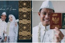 7 Momen manis pernikahan Evan Dimas dan Zahra Hakim, banjir pujian