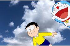 30 Kata-kata cinta Nobita dalam kartun Doraemon, menyentuh hati