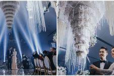 Viral kue pernikahan menjutai seperti lampu, ini 5 potretnya