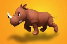 Riki Rhino, film animasi kisahkan keberlangsungan hidup satwa langka