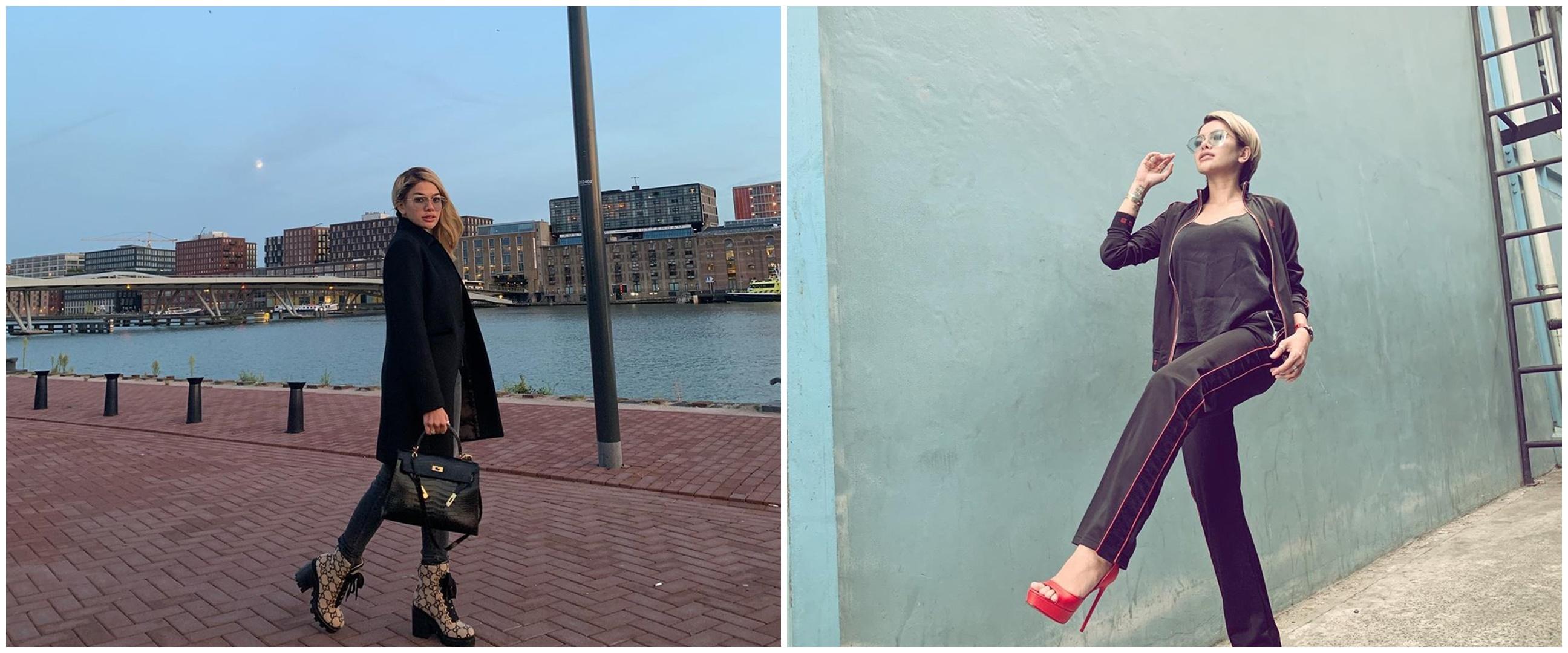 10 Koleksi sweter Nikita Mirzani, termurah Rp 4 jutaan
