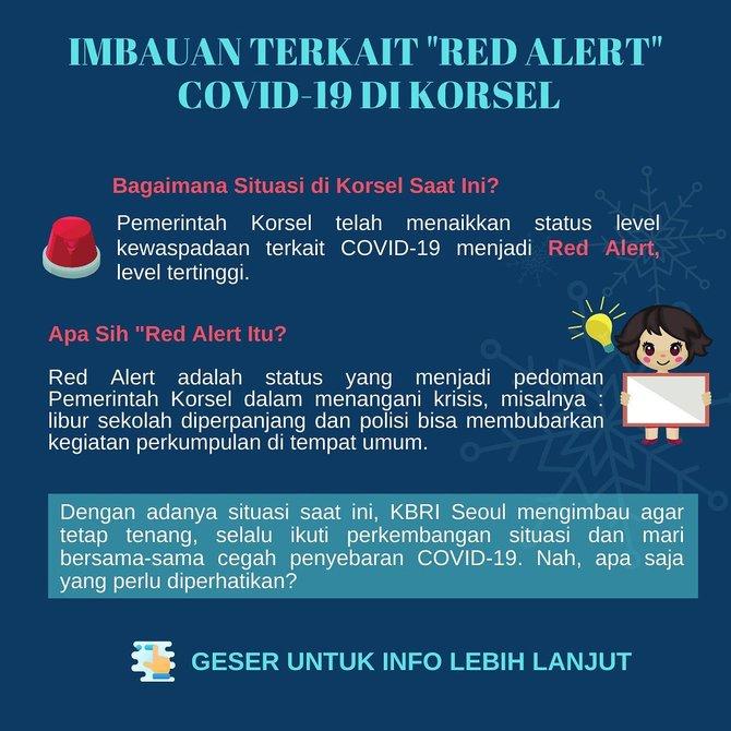 Korsel darurat virus corona  Instagram