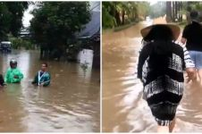 Kondisi 7 seleb usai Jakarta hujan deras, ada yang mengungsi