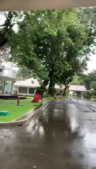 Istana Presiden sempat terendam banjir © 2020 berbagai sumber