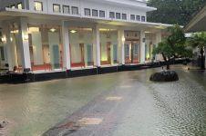Sempat terendam banjir, ini 6 potret Istana Presiden usai surut