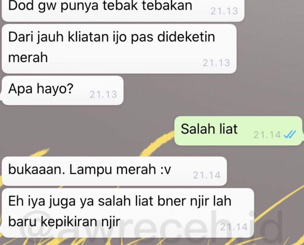 10 Chat WA Lucu Tanya Sama Teman Ini Endingnya Bikin Tepuk Jidat