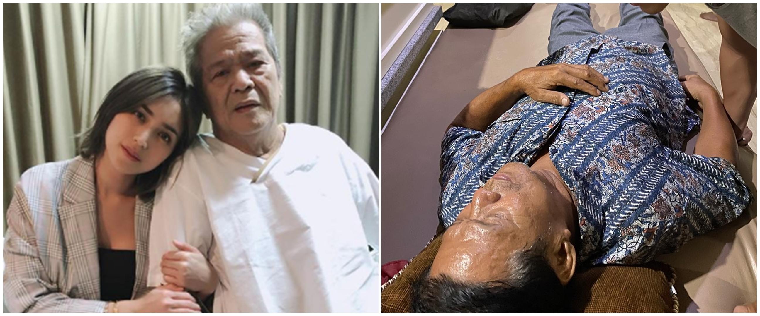 Jadi korban tabrak lari, begini kondisi ayah Jessica Iskandar