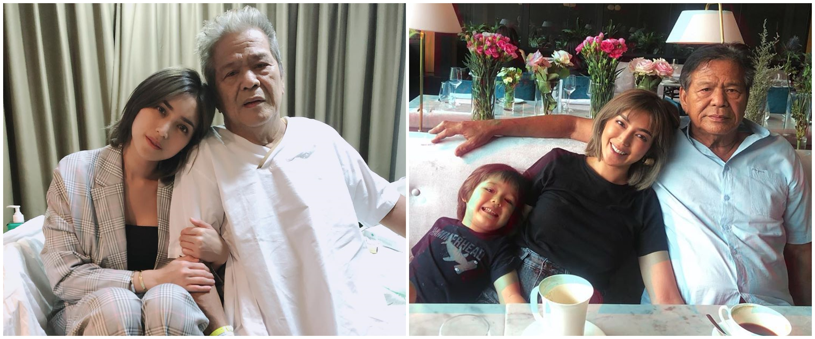 Jarang tersorot, ini 6 potret kedekatan Jessica Iskandar dan ayahnya