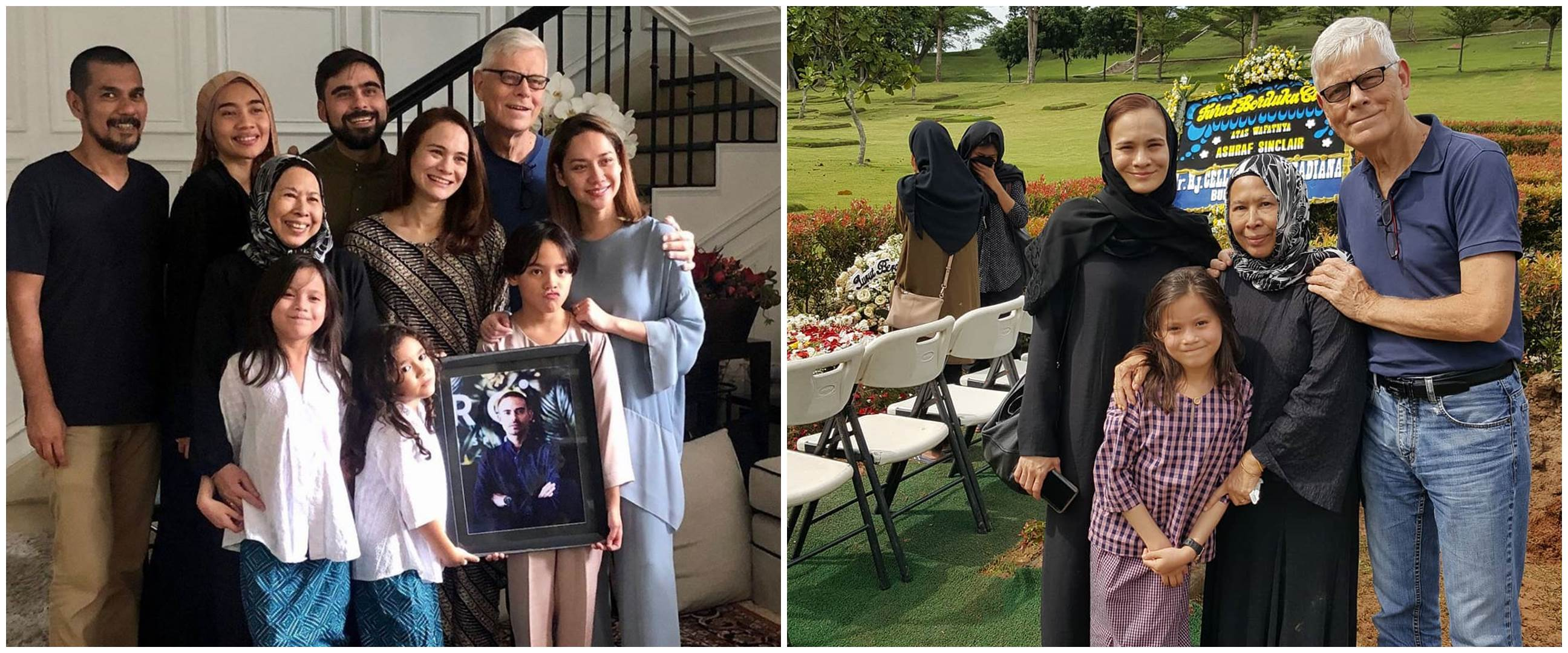 Momen haru keluarga Ashraf Sinclair pamit pulang ke Malaysia