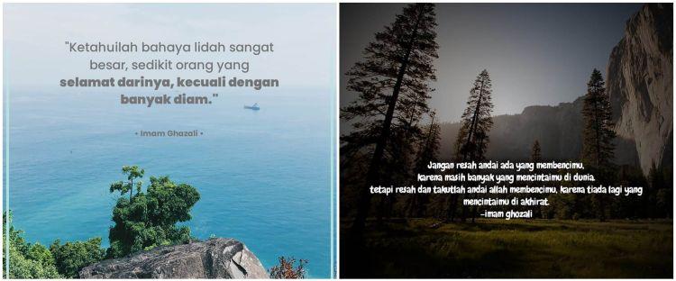 40 Kata-kata quote islami Imam Al-Ghazali, penuh makna