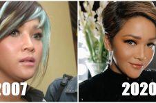 10 Transformasi rambut Maia Estianty dari masa ke masa, nyentrik