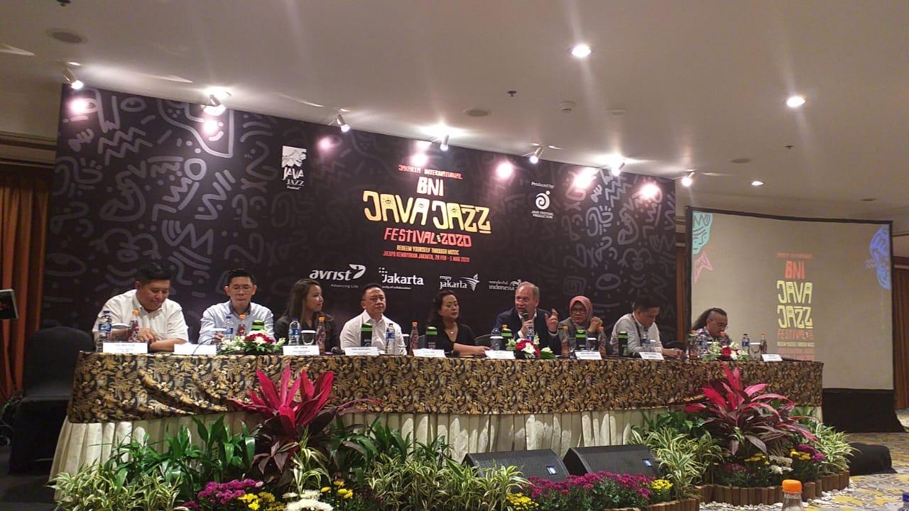 Musisi Java Jazz Festival diminta bikin tribute untuk Wuhan