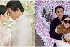 Ucapan Syahrini untuk Reino di ultah pernikahan, jadi sorotan