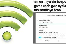 10 Password WiFi nyeleneh ini bikin emosi