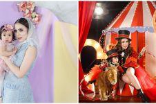 10 Potret ultah pertama anak Momo Geisha, meriah ala karnaval