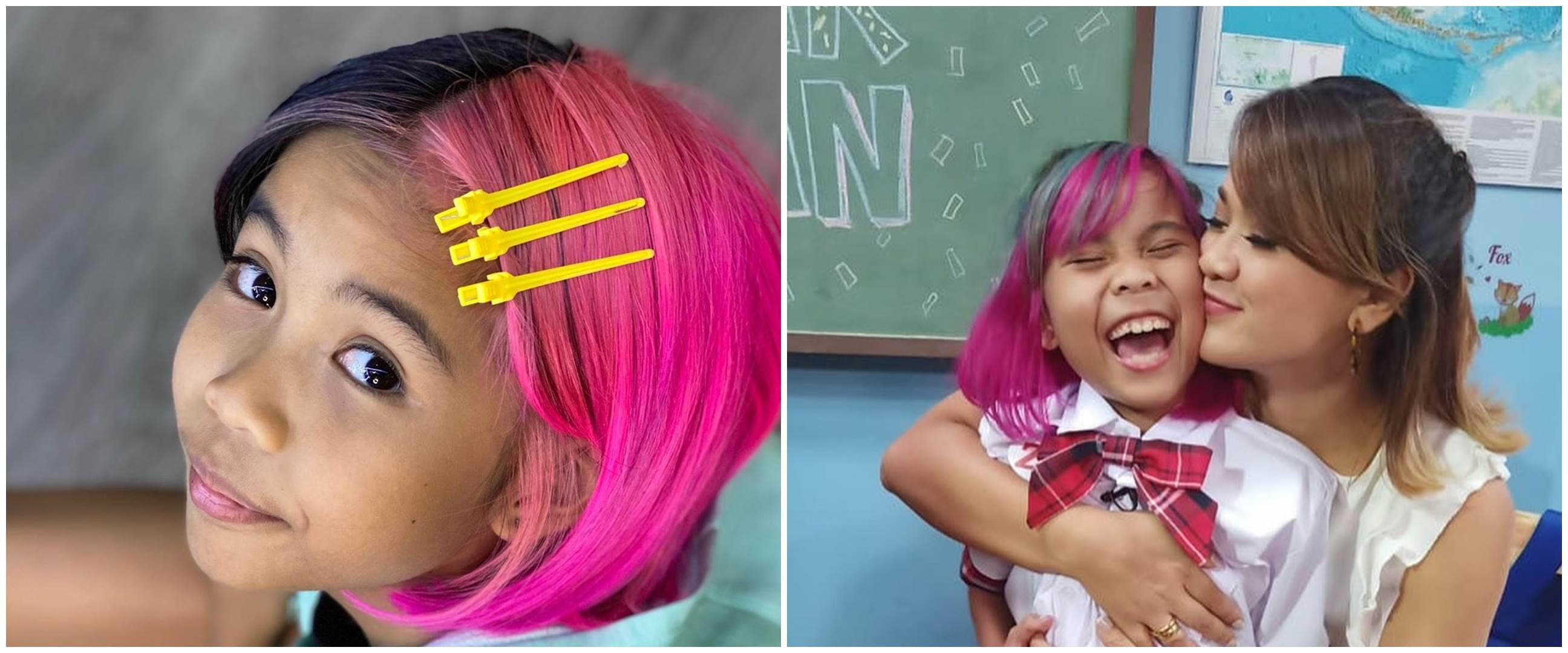 10 Potret Zivara, anak Nirina Zubir dengan rambut warna-warni