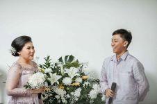 10 Momen lamaran-resepsi pernikahan Satrio anak Dono Warkop
