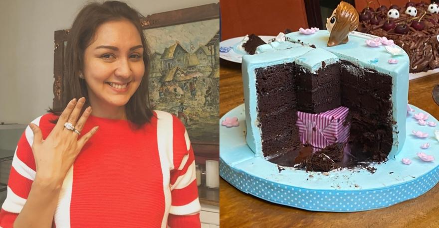Seleb dapat kue ultah antimainstream dari pasangan Instagram