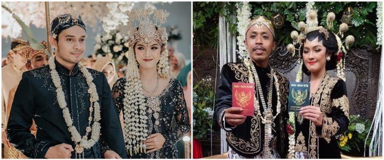 10 Momen resepsi pernikahan Rinjani TOP, gaya Mas Pur disorot