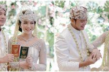 11 Potret pernikahan Dita Fakhrana & Ilham Prawira, meriah