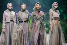 Desainer ini usung tema virus di Fashion Rhapsody 2020