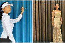 Kerap kasual, ini 7 potret glamor Soraya Rasyid pakai gaun